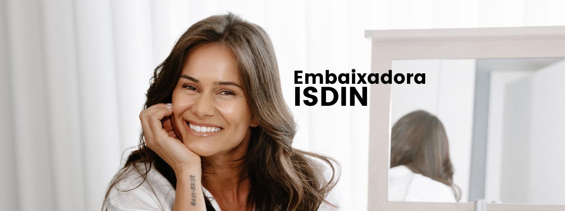 claudia vieira actriz é a nova embaixadora ISDIN Portugal