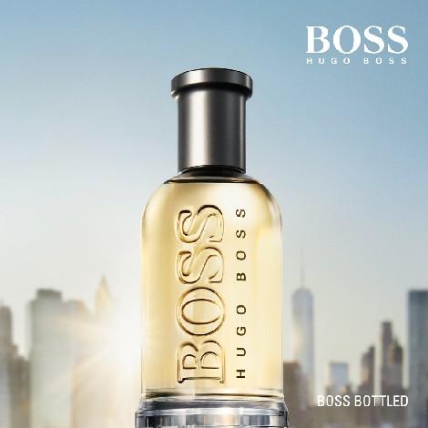 boss bottled perfume para homem hugo boss