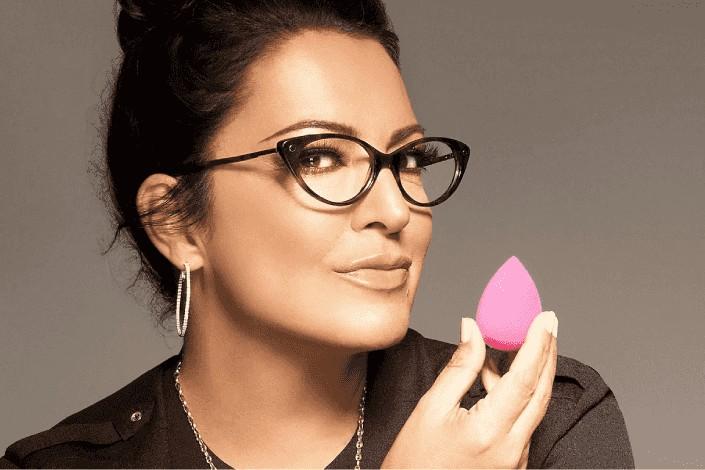 Rea Ann Silva beautyblender creator