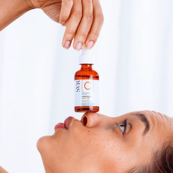 SVR Ampoule C vitamina C luminosidade rosto Ampola vitaminaC