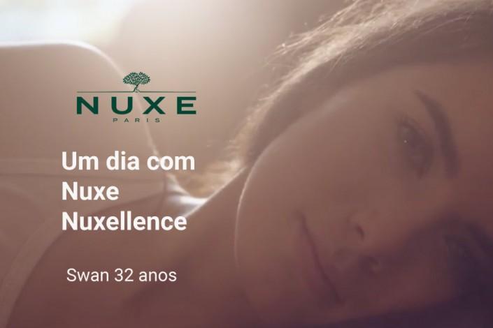 Vídeo sobre os cosméticos da marca Nuxe