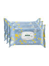 Klorane Bebé Toalhetes de Limpeza (Pack 3uni)