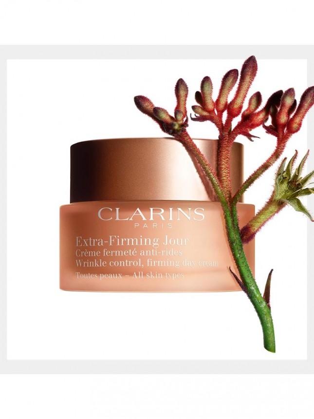 Clarins Extra-Firming Jour Antirrugas para todo o Tipo de Pele  50 ml