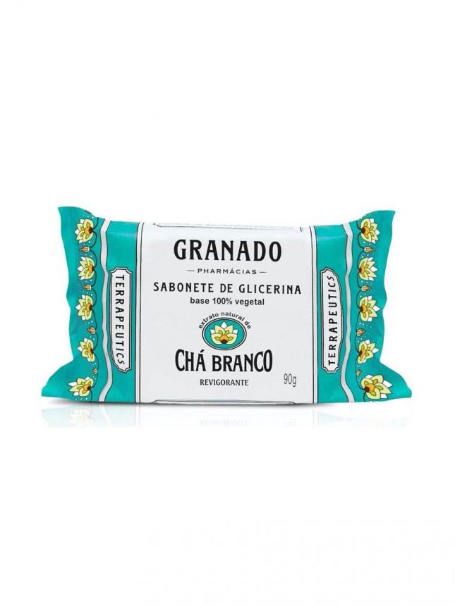 Granado Chá Branco Sabonete de Glicerina