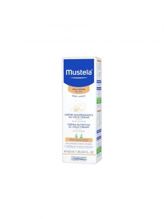 Mustela Bebé Creme Nutritivo Cold Cream