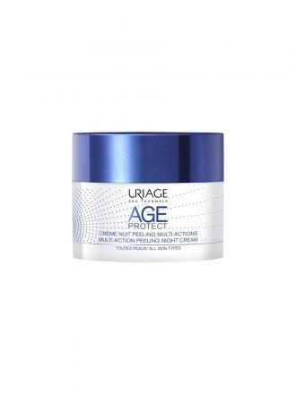 Uriage Age Protect Creme de Noite Efeito Peeling 50ml