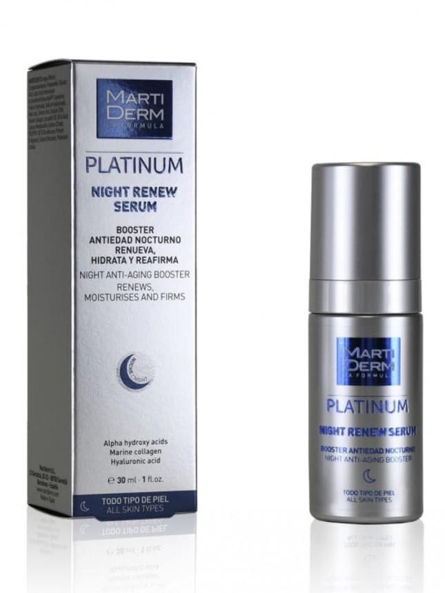 Martiderm Platinum Night Renew Sérum