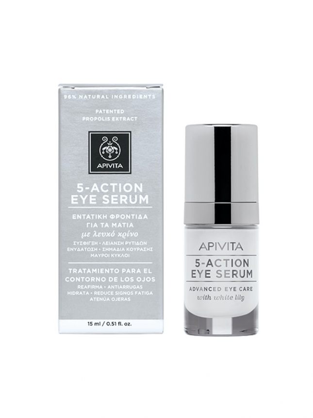Apivita 5 - Action Eye Sérum