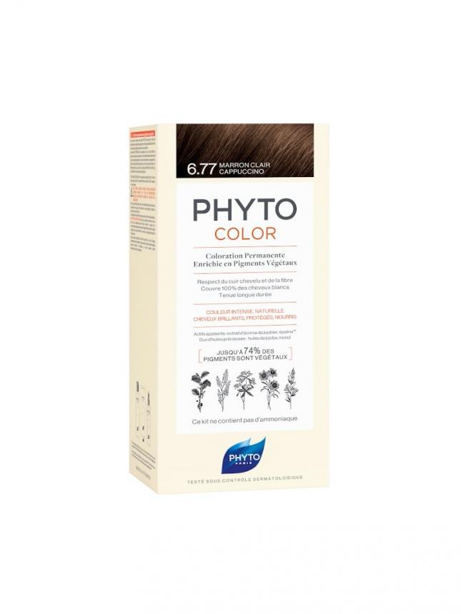 Phyto Phytocolor Kit 6.77 Louro Escuro Marron
