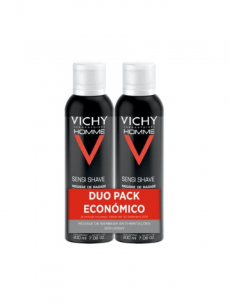 Vichy Homme Duo Mousse Barbear