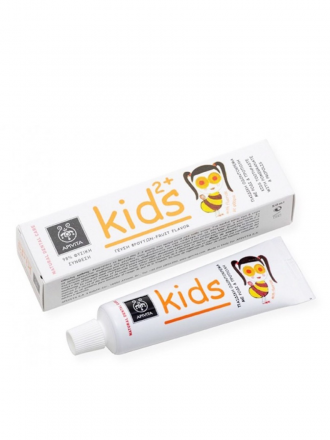Apivita Kids Dental Care Pasta 2+