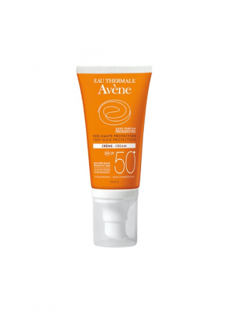 Avène Solares SPF50+ Creme S/ Perfume