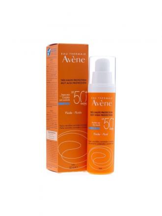 Avène Solares SPF50+ Fluído S/ Perfume