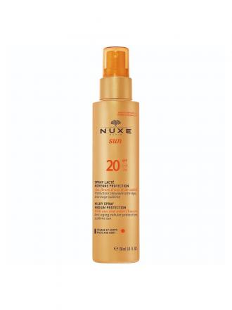 Nuxe Sun Spray Leitoso SPF 20 Proteção Média