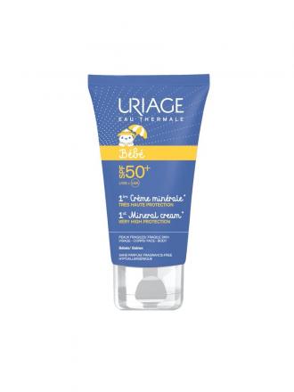 Uriage Bebé Creme Protetor Solar Mineral SPF50 + 50ml