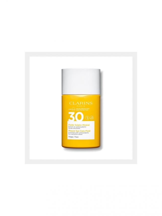 Clarins Fluide Solaire Minéral Visage SPF 30