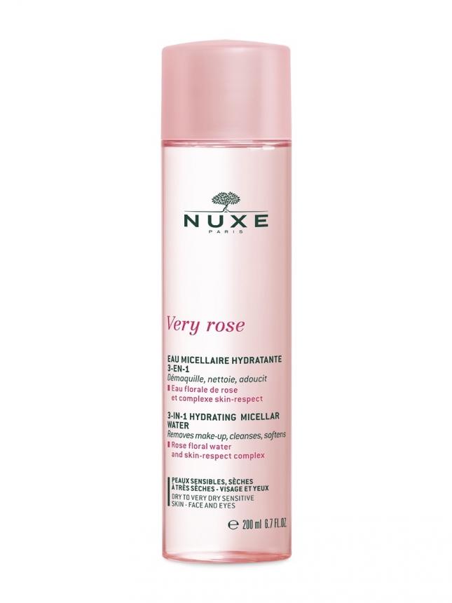 Nuxe Very Rose Água Micelar Peles Secas