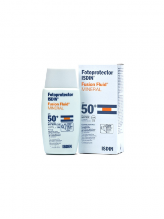 FOTOPROTETOR ISDIN Fusion Fluid Mineral SPF50+ 50 ml