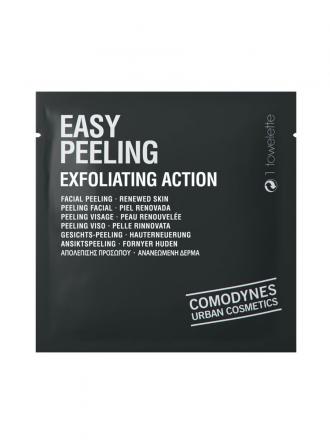 Comodynes Easy Peeling Toalhitas Esfoliantes x1