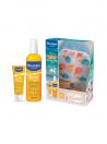 Mustela Bebé Spray solar de corpo SPF50 200 ml + Leite solar de rosto