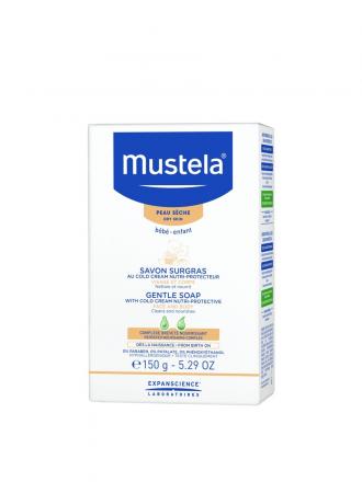 Mustela Bebé Sabonete Suave Cold Cream