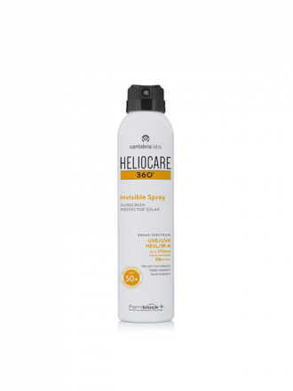 Heliocare 360 Invisible Spray FPS50+