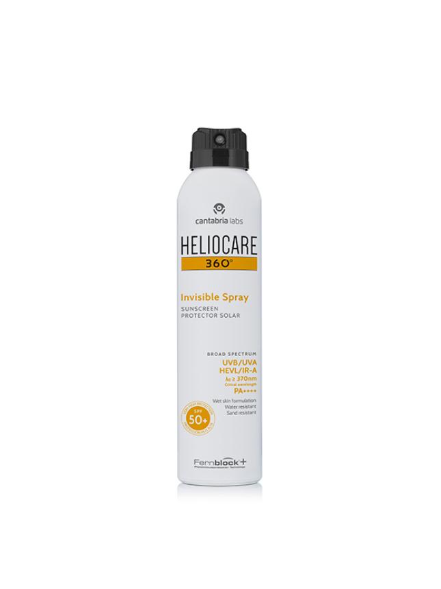 Heliocare Protetor Solar 360 Invisible Spray FPS50+  200ml