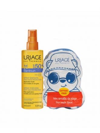 Uriage Bariésun Spray Infantil SPF 50+ c/ Oferta Toalha