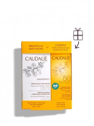 Caudalie Coffret Vinoperfect Serum + Solar SPF50