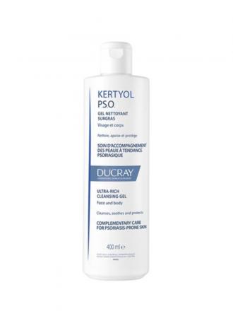 Ducray Kertyol PSO Gel de Limpeza Extra Rico 400ml