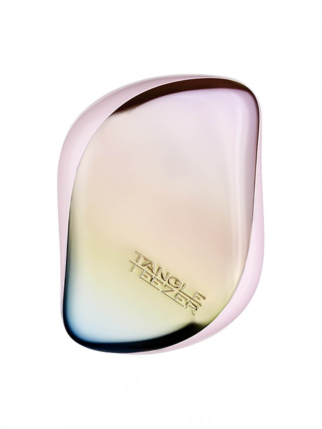 Tangle Teezer Compact Styler Matte Pearlescent Chrome (Iridiscente)