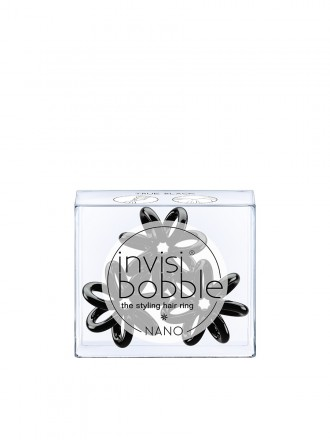 Invisibobble Nano Preto x3