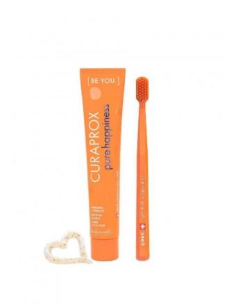 Curaprox Be You Pasta Dentifrica Pure Hapiness 90 ml + CS 5460 Ultra Soft Escova De Dentes