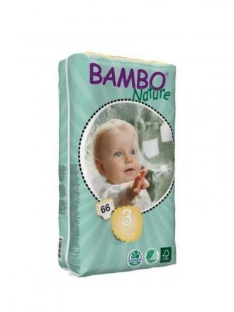 Bambo Nature Fralda T3 5 - 9 kg 66 uni