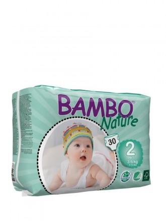 Bambo Nature Fralda T2 3 - 6 kg 30 uni