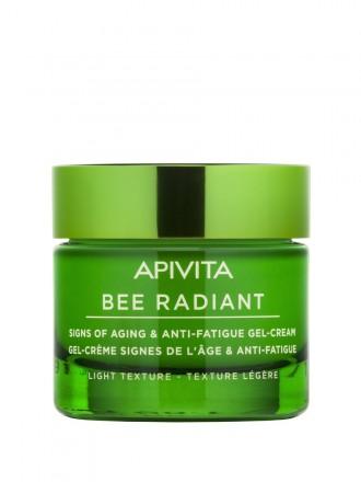 Bee Radiant Gel-Creme Sinais De Envelhecimento e Antifadiga Textura Ligeira