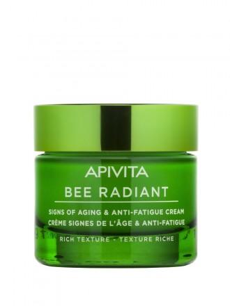 Bee Radiant Creme Sinais De Envelhecimento e Antifadiga Textura Rica