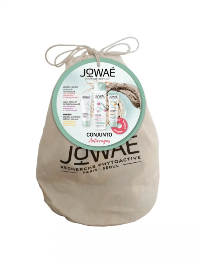 Jowaé Conjunto Antirrugas com OFERTA de Creme de Mãos e Unhas Nutritivo