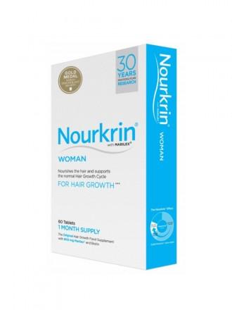 Nourkrin Mulher Comprimidos para o Crescimento do Cabelo - 60 comprimidos
