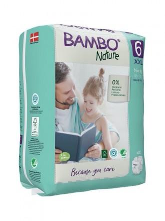 Bambo Nature Fraldas 6 (XXL) 16+ kg (20 Fraldas)
