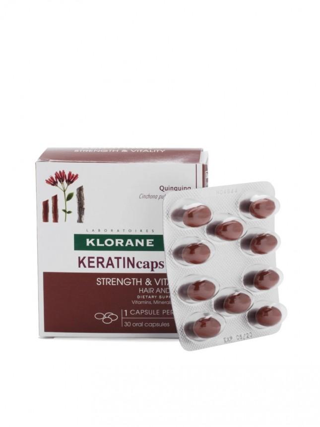 Klorane Keratincaps Cápsulas