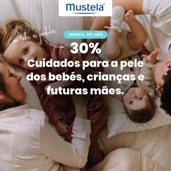 Mustela com 30% desconto