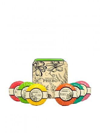 Phebo Coffret Sabonetes Águas de Phebo Verde