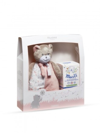 Mustela Love Welcome Baby Musti Eau de soin perfumée 50 ml + Peluche