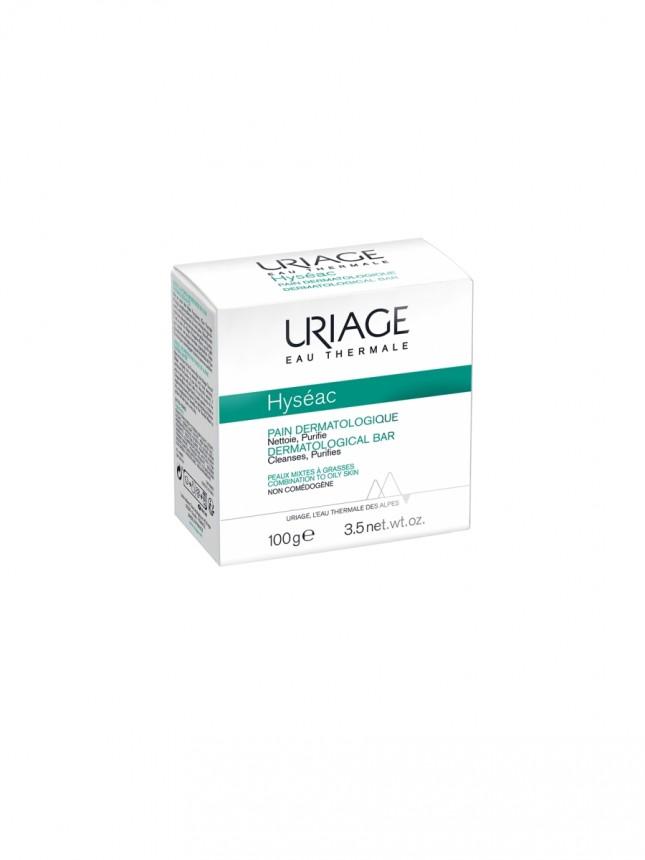 Uriage Hyseac Pain Dermatológico Sabonete Sólido para Pele Mista a Oleosa 100g