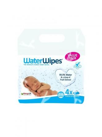 Waterwipes Toalhitas Bebé (60 toalhitas) x4