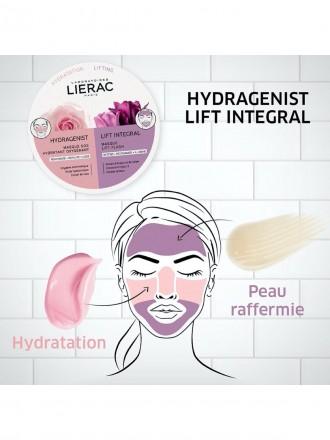 Lierac Duo Mask Hydragenist Máscara SOS Hidratação Oxigenante & Lift Integral Máscara Flash