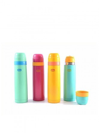 Chicco Garrafa Térmica para Líquidos Thermos Mum & Baby 500 ml (cores variadas)