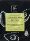 Apivita Express Beauty Máscara de Tecido Preta Detox & Purificante de Alfarroba