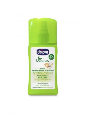 Chicco Spray Antimosquito Refrescante e Protetor 100 ml